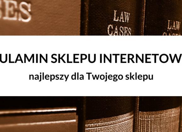Darmowy Regulamin Sklepu Internetowego 2020